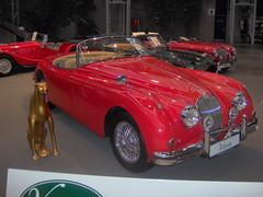 automobile, vehicle, automotive design, jaguar xk150, antique car, classic car, vintage car, land vehicle, luxury vehicle, supercar, sports car,