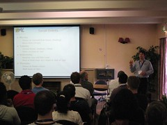 XML Summer School official welcome by John Chelsom