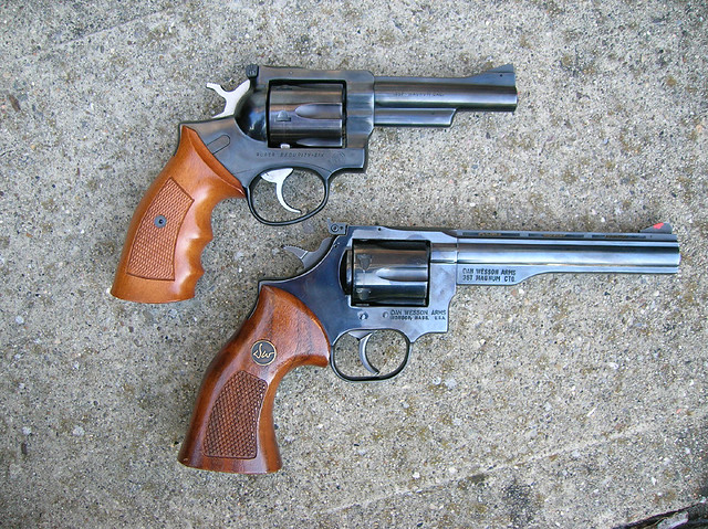 Ruger Security Six, Dan Wesson Model 15 | Flickr - Photo Sharing!