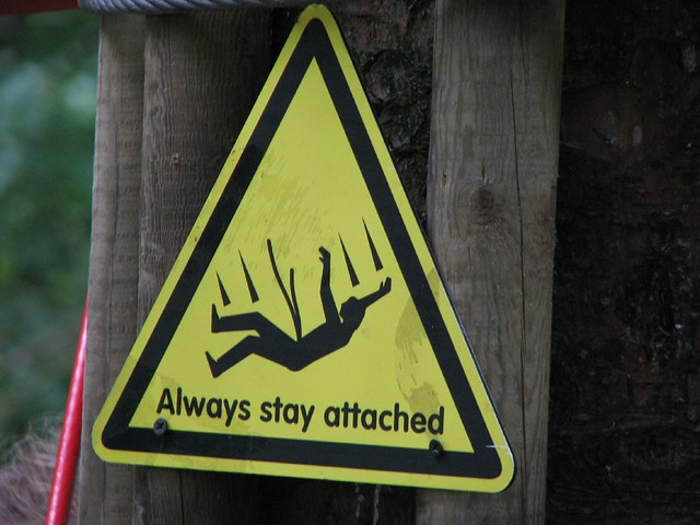 Always stay attached