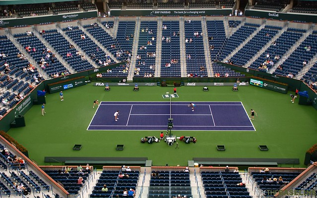 Bnp Paribas Open Stadium At Indian Wells Flickr Photo Sharing