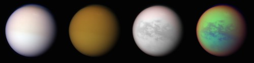 Titan - natural, infrared, methane