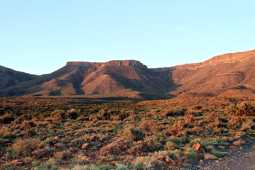 Karoo table mountains