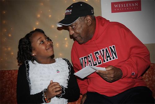 Bill Cosby visit Wesleyan University
