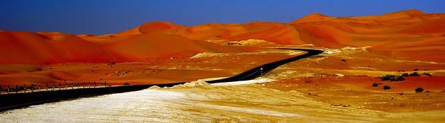 Liwa desert dunes