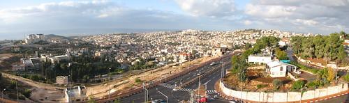 city buildings israel strada middleeast galilee pilgrimage holyland città nazareth israele terrasanta galilea mediooriente nazarethillit pellegrinaggio illit steeet