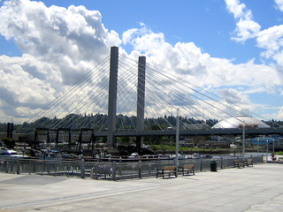 Tacoma's Cable Stay Bridge