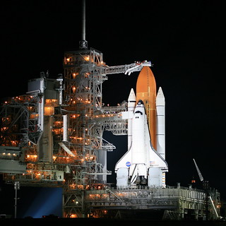 Space Shuttle Endeavour on Pad39A