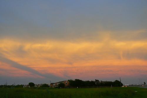 sunset texas corpuschristi panasonicdmcfz7 10millionphotos