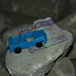 Money and a Toy Car for Wishes - Annau, Turkmenistan