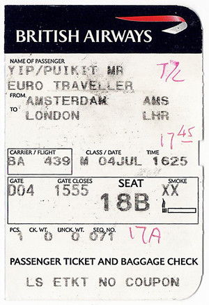 airline tickets to london