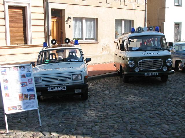 Wartburg und Barkas B1000