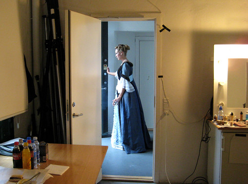 copenhagen, nørrebro, atelier fluri, break during a photo shoot by svanes
