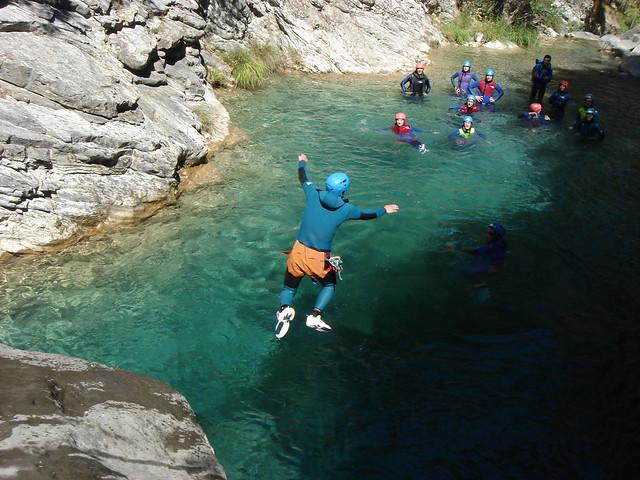 canyoning Barberra