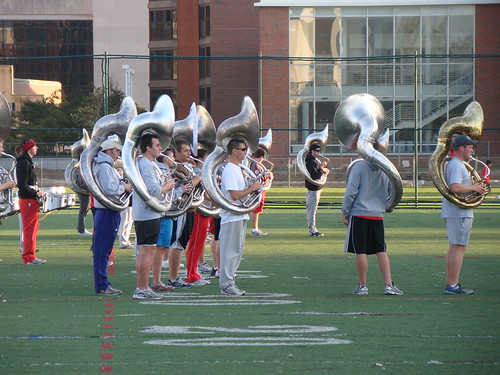 Ohio State University ~ Band Practice