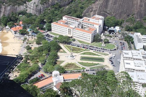 Praça General Tibúrcio viewed from Morro da Urca