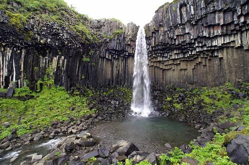 Iceland: Svartifoss Cascade