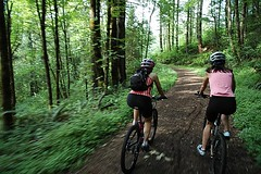 Bike tour company offers guided forest park ride for Portland maine bike trails