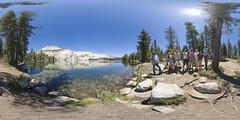 Groupshot at May Lake