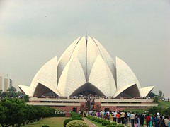 The Lotus Temple in (New) Delhi