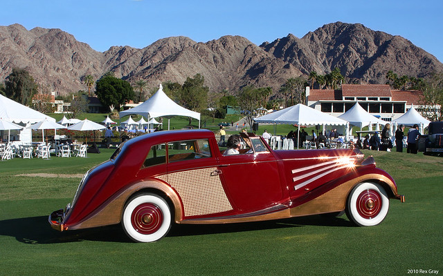 1937 Rolls-Royce Phantom III Sedanca de Ville - 103CP38 - svr
