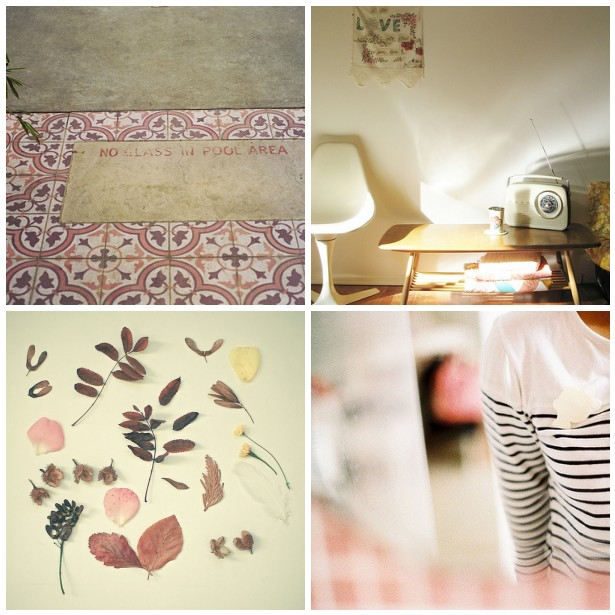 colour palette : autumn blush curated by Emma Lamb