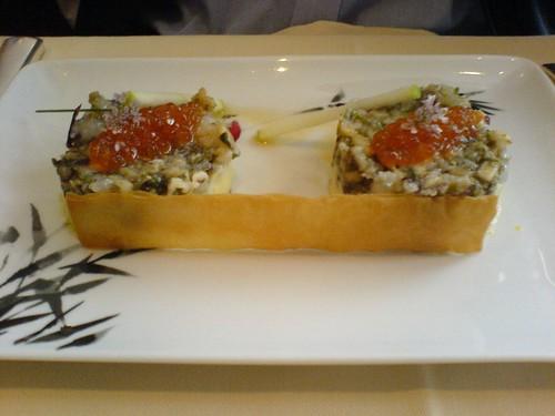 langoustines marin es en tartare pommes de terre au beurre d 39 algues clotilde 39 s moblog. Black Bedroom Furniture Sets. Home Design Ideas