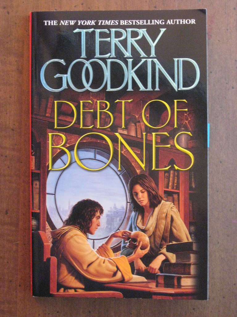 meet terry goodkind new book