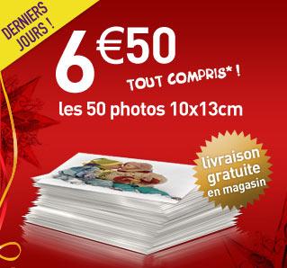 auchan 50 tirages photo pour 6 5 euros. Black Bedroom Furniture Sets. Home Design Ideas