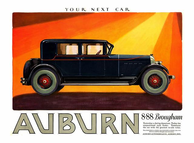 1927 ... a daring departure!