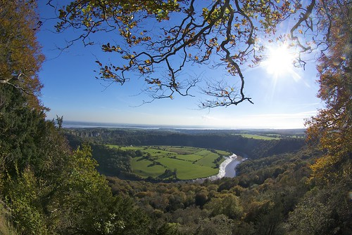 The Lower Wye Valley from Wyndcliffe