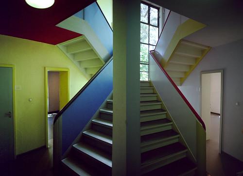 dessau masters' houses - both stairwells