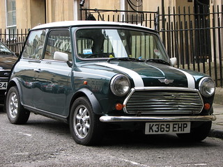 Rover Mini Cooper, Bath, UK