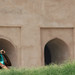 Red Fort Worker by peggydaly