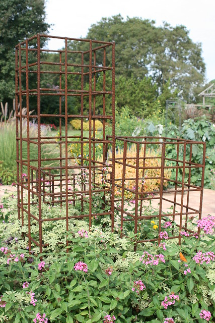 Rebar Trellises As Part Of The Optional Tour To