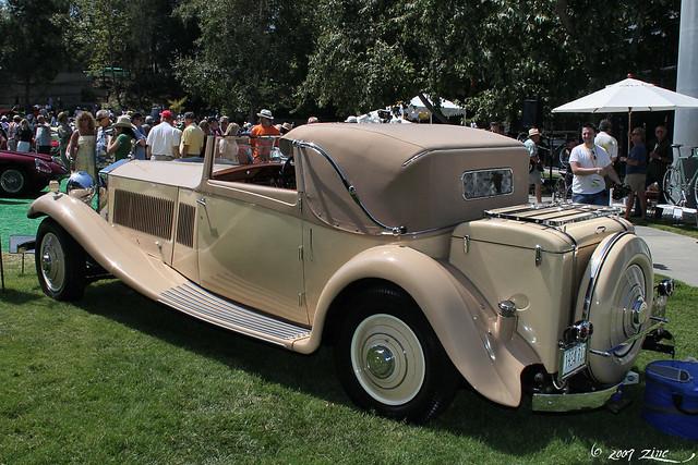 1934 Rolls Royce Phantom II Continental rvl