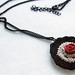 Rose necklace by pompom design
