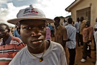 A youth in Juba, the capital of southern Sudan.