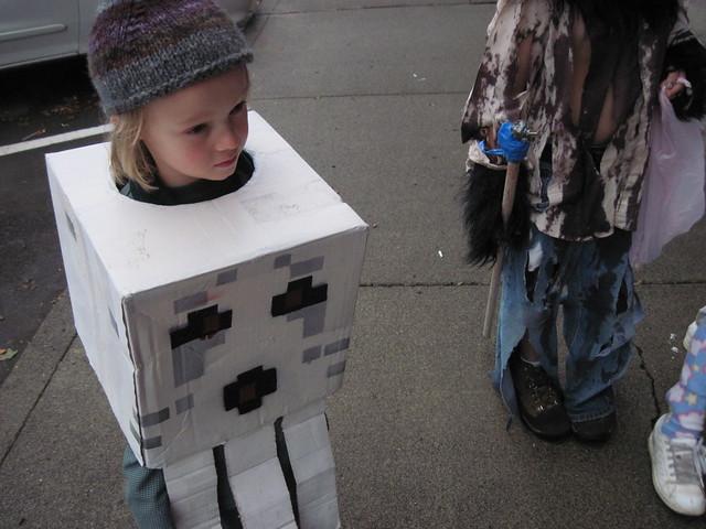 minecraft halloween costume