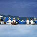 Bluebird at Bonneville - Jack Vettriano - copia d'arte Lego by udronotto