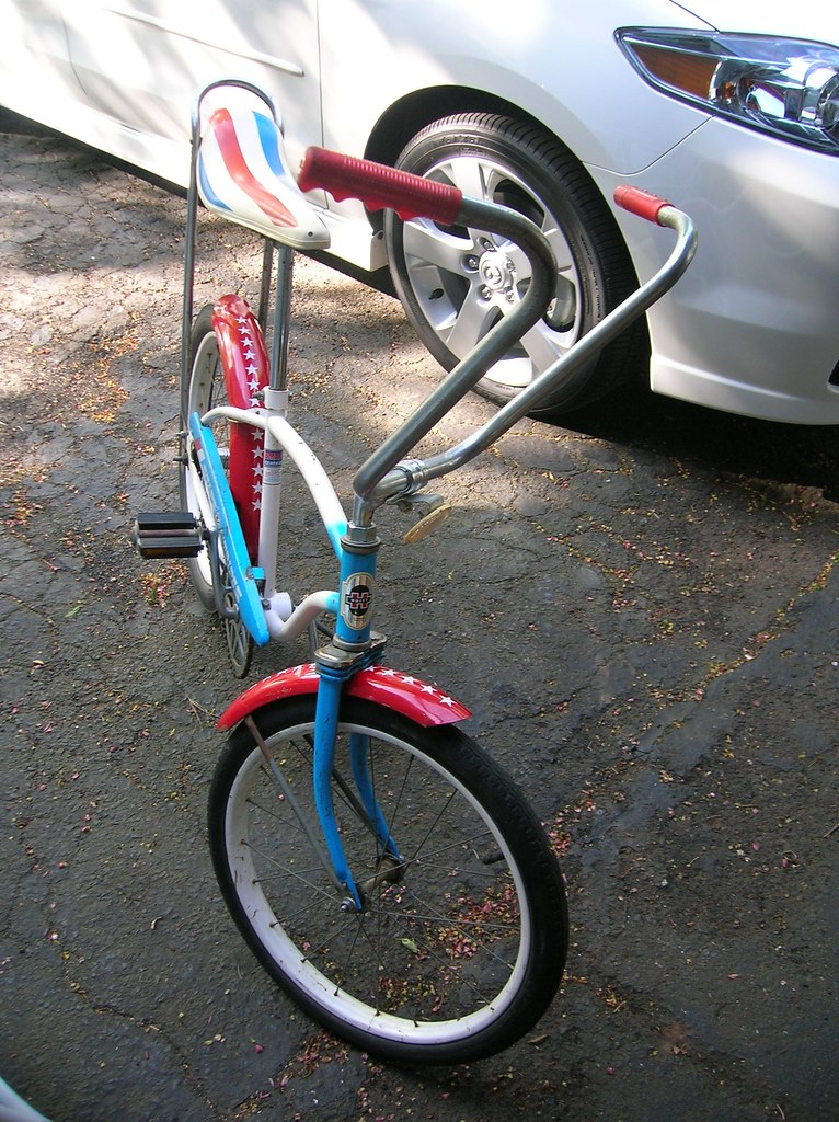 Mid 70s Huffy Stars Stripes Boys Muscle Bike Not For Sale Rat