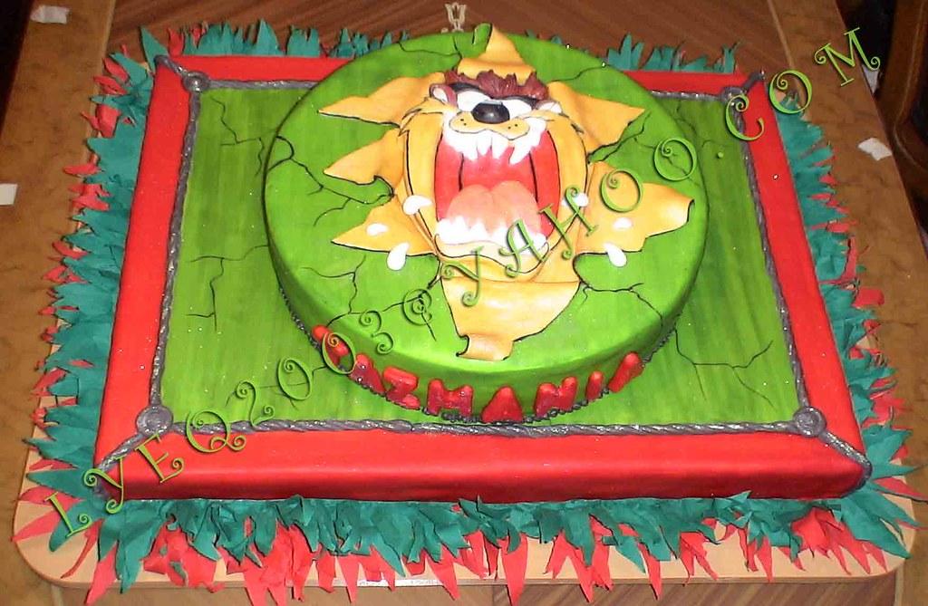 Torta Demonio Tazmania Torta Demonio Tazmania by
