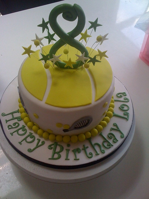 tennis inspired wedding cakes tennis themed cake flickr photo 20794