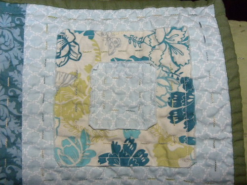 Ragged Squares Quilting