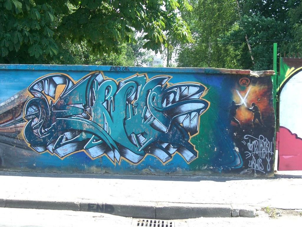 graffiti | dons crew . impas2000 | krakow 2007