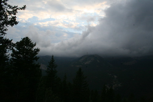 sunset clouds rockies colorado rockymountains rockymountainnationalpark neversummermountains tiwonge
