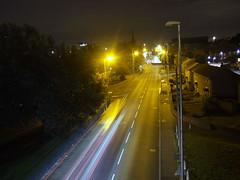 The Night Bus Speeds Beneath