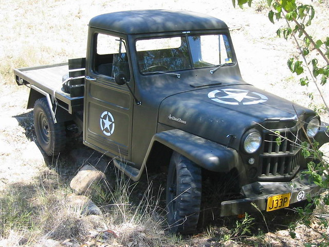 1958 Willys Jeep Wagon http://www.flickr.com/photos/12653915@N08/1309130079/