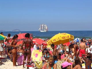 Praia de Copacabana - Brasil - Copacabana Beach - Brazil