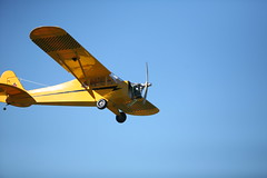 aviation, airplane, propeller driven aircraft, wing, vehicle, piper j-3 cub, propeller, flight, aircraft engine,